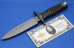 Buster Warenski Damascus Dagger Image