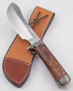 Bowles Skinner #312 w/Honduras Rosewood and Engraving Image