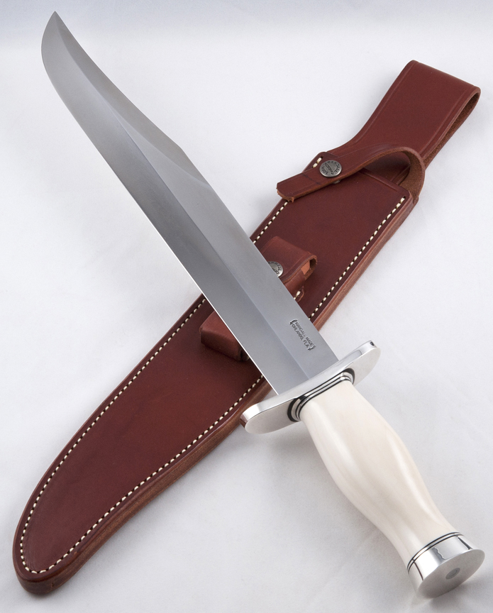 ***SOLD***Model #12-13 Thorp Bowie Ivory and Silver Image