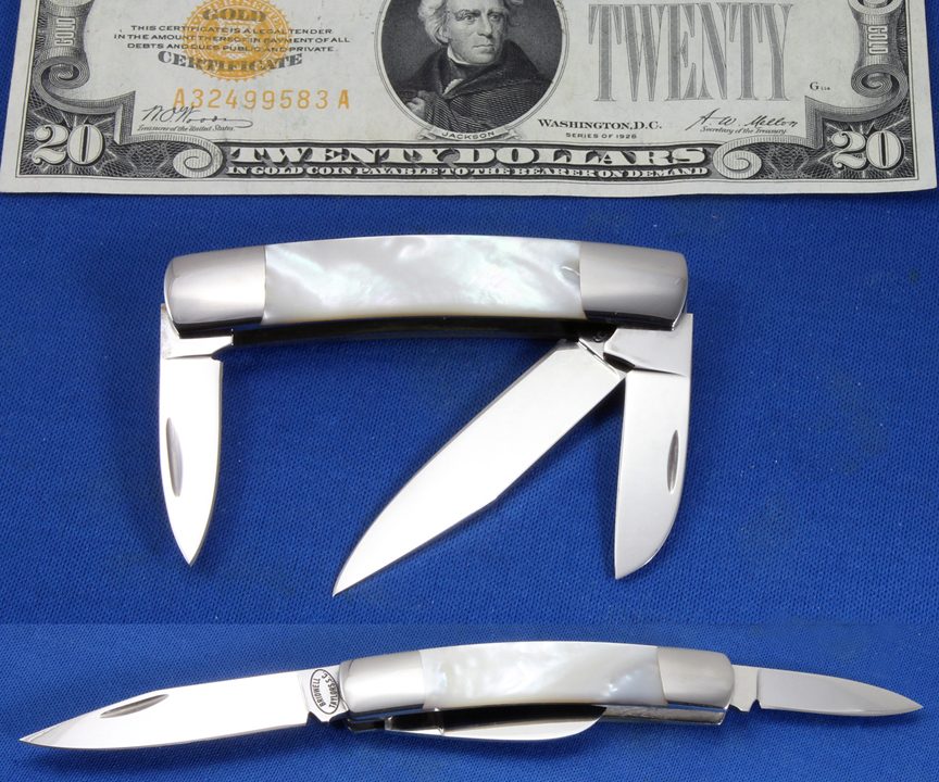 Richard Bridwell 3 Blade Folder Image
