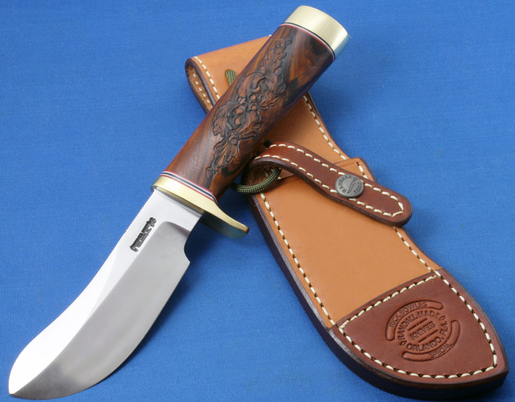 Bowles Skinner #486 Carved Handle Image